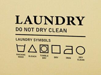 Wall sticker English letter alphabet [laundry 2] wall paper washing laundry  wall sticker wall seal wall sticker seal room decorations interior