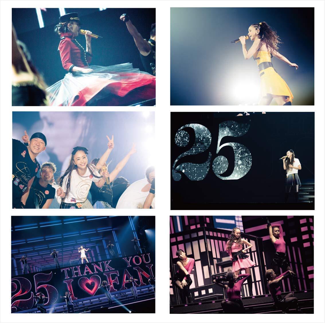 namie amuro Final Tour 2018 ~Finally~ (DVD5枚組)(初回生産限定盤)限定写真使用の縦型卓上カレンダー」付