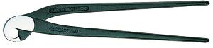KNIPEX タイルニブリングペンチ (オームのくちばし形パンチプライヤー) 9100-200