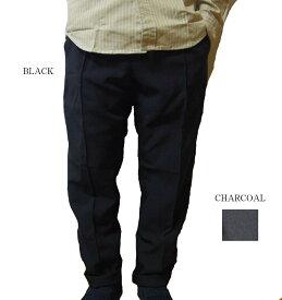 BIG MIKE パンツ ボトム イージーパンツ スラックス ブラック チャコール ビッグマイク PIN TACK TOROPICAL EASY PANTS BLACK CHARCOAL