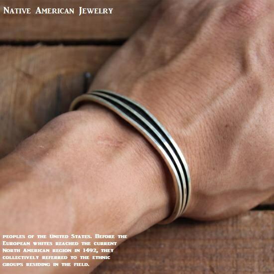 バングル Native American Jewelry シルバー925 ネイティブアメリカンジュエリー メンズ レディース プレゼントにも