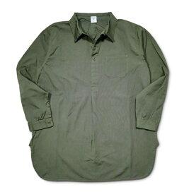 セール HOUSTON スリーピングシャツ ミリタリー プルオーバー オリーブドラブ ヒューストン SLEEPING SHIRT 40510 プルオーバー