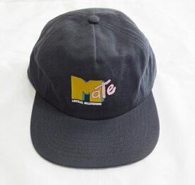 TCSS コットンキャップ 帽子 ブラック(PHANTOM) ティーシーエスエス MATE CAP メンズ レディース ユニセックス HW1895 MTVサンプリング オマージュ