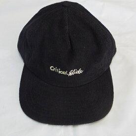 TCSS キャップ 帽子 ブラック コーデュロイ ティーシーエスエス INSITUTE CAP HW1900 メンズ レディース ユニセックス