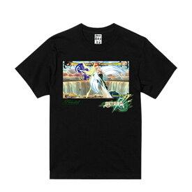 HAOMING 半袖Tシャツ ブラック バックプリント ハオミン KENNY OMEGA×GUILTY GEAR Xrd REV 2×HAOMING コラボ メンズ レディース ユニセックス