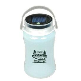ソーラーランタン CAMPING SOLR LANTERN Warm White LED Series アウトドアやバンライフインテリアに防災にも