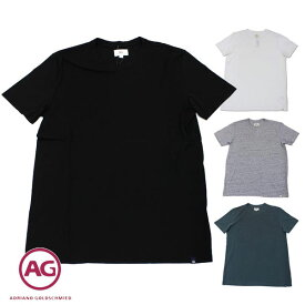 数量限り!エージー Tシャツ メンズ AG クルーネック ホワイト/ブラック/グレー/グリーン Sサイズ 8032 【送料無料♪】【あす楽】