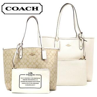 教練包女士COACH Bag燈黄褐色×粉筆F36658 IMDQC