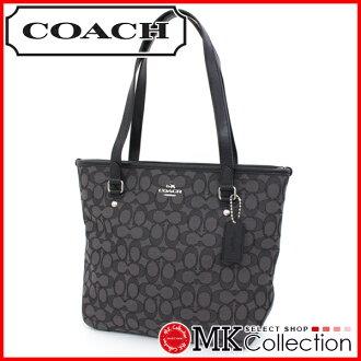 教练签名 zip 顶级手提包的妇女教练袋豪华 F53364 SVDK6 0824 乐天卡拆分器 02P01Oct16