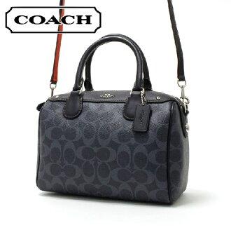 教练挎包女士COACH BAG粗斜纹布F57672 SV/DE