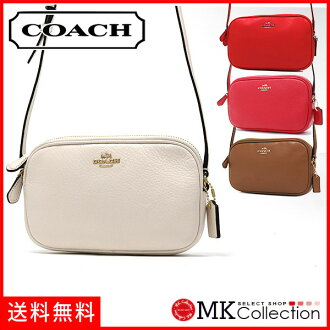 Coach shoulder bag Lady's COACH Bag chalk F65988 IMCHK