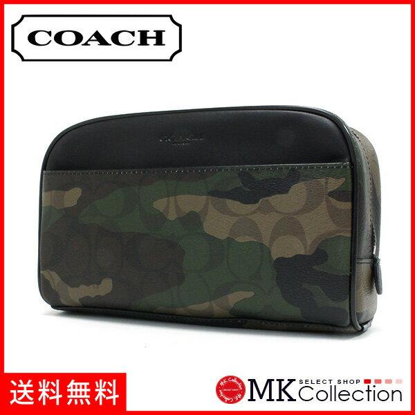 コーチ ポーチ メンズ COACH Wallet カモフラージュ F12008 MGQ 【当店全品送料無料♪】