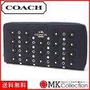 コーチ 財布 COACH Wallet フローラルリベットレザージップ F53907 SVADT