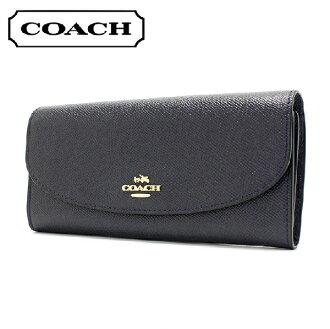 c763fcf28d Coach long wallet Lady's COACH Wallet midnight F54009 IMMID