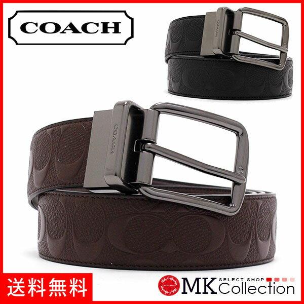 コーチ ベルト メンズ COACH ファッション マホガニー F55157 MAH 【当店全品送料無料♪】
