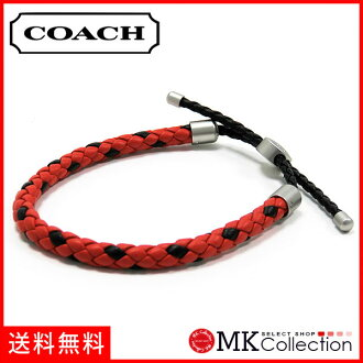 Coach bracelet men COACH accessories red F57147 RED