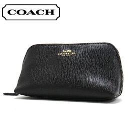 コーチ ポーチ レディース COACH 小物 ブラック F57857 IMBLK 【送料無料♪】【あす楽】