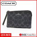 コーチ ポーチ レディース COACH Wallet デニム F57996 SV/DE 【当店全品送料無料♪】