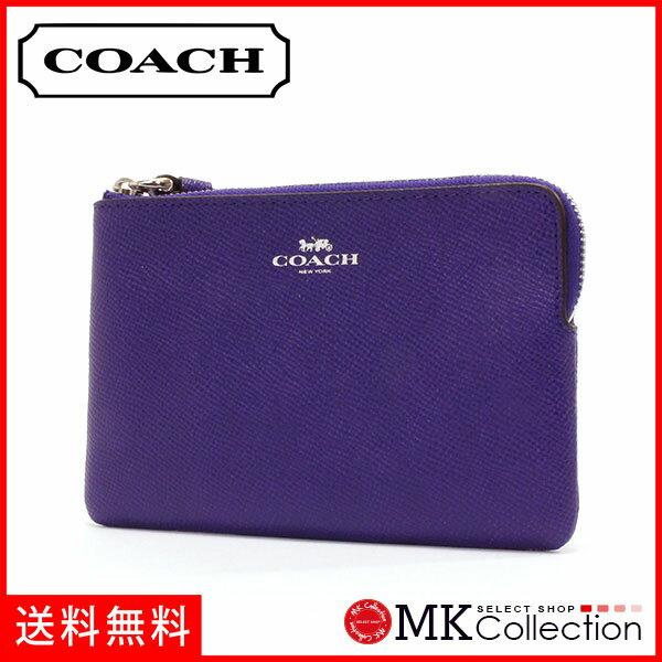 コーチ ポーチ レディース COACH Wallet パープル F58032 SV/UY 【当店全品送料無料♪】