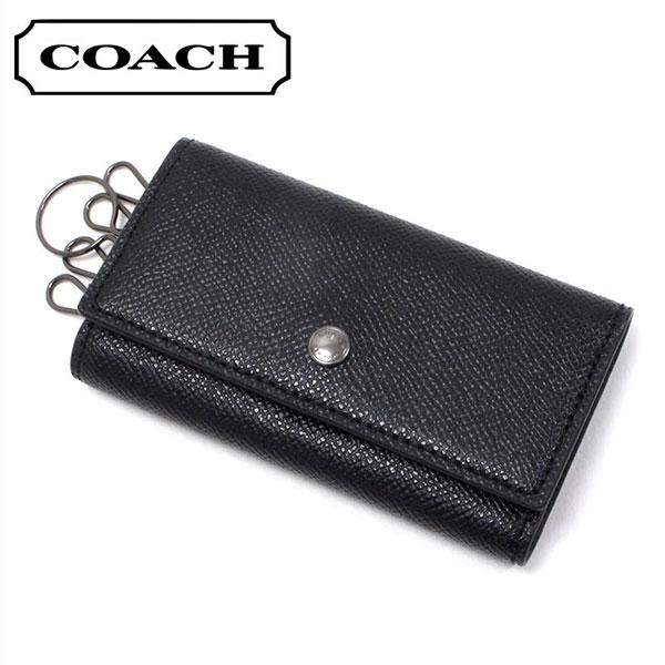 コーチ キーケース メンズ COACH key case ブラック F26100 BLK 【当店全品送料無料♪】【あす楽】