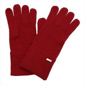 コーチ 手袋 レディース COACH gloves ブライトレッド F34259 BRD 【送料無料♪】
