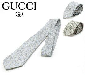 グッチ ネクタイ メンズ GUCCI シルク イタリア製 408871 4E001 【送料無料♪】