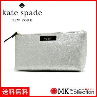 凯特黑桃门女士KATE SPADE Bag银子WLRU2732-040