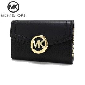 マイケルコース キーケース レディース MICHAEL KORS key case ブラック 35F9GFTP5L BLACK 【送料無料♪】