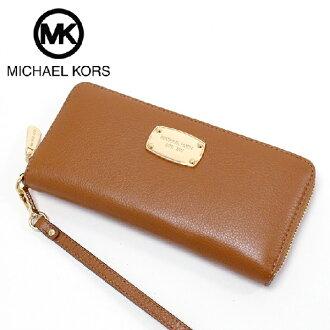 0f372cce1e18 Michael Kors long wallet Lady's MICHAEL KORS Wallet brown 35H5GTTZ3L LUGGAGE