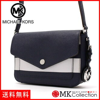 邁克爾套餐挎包女士MICHAEL KORS BAG深藍/白35S7SF1C1L NAVY/OPTICWHITE