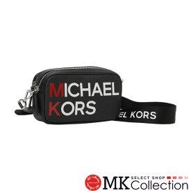 【スーパーセール特別価格!】マイケルコース ショルダーバッグ レディース MICHAEL KORS 斜めがけ ブラック 35S9SLCM1V BLACK 【送料無料♪】