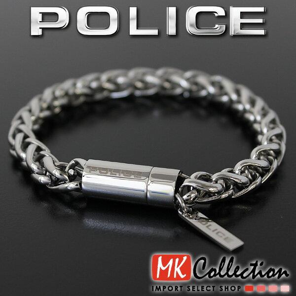 ポリス ブレスレット メンズ 国内正規品 POLICE アクセサリー 25135BSS01 【当店全品送料無料♪】