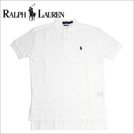 ラルフローレン ポロシャツ メンズ 半袖 POLO RALPH LAUREN クラシックフィット ワンポイント ホワイト 【送料無料♪】【あす楽】