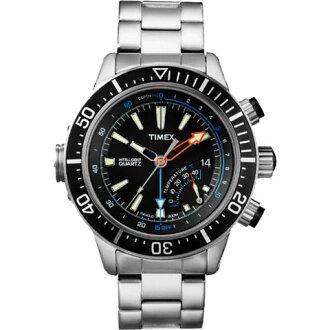 Timex clock men's domestic regular article インテリジェントクォーツデプス TIMEX watch T2N809
