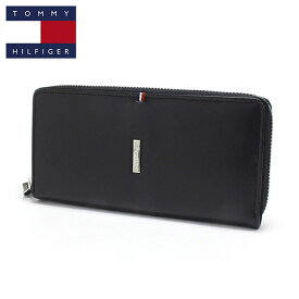 トミーヒルフィガー 長財布 メンズ TOMMY HILFIGER Wallet ブラック 31tl13x013 001 【送料無料♪】