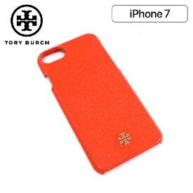7a2c09d404 トリーバーチ スマホケース レディース TORY BURCH Smartphone case iPhone7 オレンジ 47410 818  【送料無料♪】