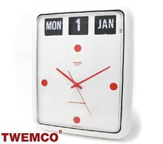 Tenko 時鐘內部 TWEMCO 手錶時尚時鐘 BQ 12 白紅 0824年樂天卡拆分器 02P01Oct16