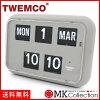 Tenko 時鐘灰色真正 TWEMCO 時鐘內部時鐘時尚 QD 35 灰色 0824年樂天卡司 02P01Oct16