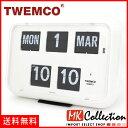 トゥエンコ 置時計 インテリア TWEMCO 時計 オシャレ クロック QD-35 WHITE