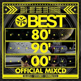 《送料無料/MIXCD/ENT-002》BEST 80' 90' 00' OFFCIAL MIXCD《洋楽 MixCD /洋楽 CD》《メーカー直送/正規品》