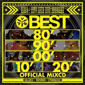 洋楽40年分究極ベスト 送料無料 MIXCD - BEST 80' 90' 00' 10' 20' OFFICIAL MIXCD《洋楽 Mix CD/洋楽 CD》《 ENT-003 /メーカー直送/輸入盤/正規品》 洋楽 おすすめ ヒットチャート TikTok ランキング 最新 定番 カッコイイ 人気 英語
