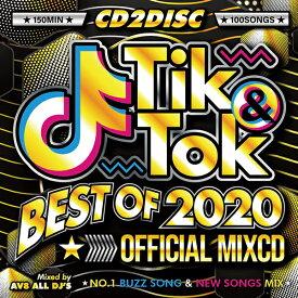楽天ランキング不動のNo.1シリーズ年間ベスト! 送料無料 MIXCD - TIK&TOK -BEST OF 2020- OFFICIAL MIXCD - 洋楽 Mix CD OKT-007  メーカー直送 輸入盤 正規品