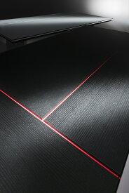 オスカー ダイニングテーブル 松永工房 モダン家具 ダイニング デザイナーズ インテリア 和モダン ガラステーブル スタイリッシュ 高級家具 日本製 黒い家具 白い家具 おしゃれ かっこいい モダンデザイン