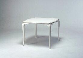 カンティーニュ ダイニングテーブル W900 ダイニング  猫脚家具 白い家具 クラシック家具 かわいい ロココ調 ラグジュアリー エレガント 日本産 松永工房 クラシックスタイル  アンティーク調 おしゃれ
