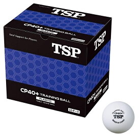 卓球 トレーニングボール 10ダース入り箱 40mm 激安 練習球 プラスチック (VICTAS) 010071 CP40+ TSP ピンポン玉 ホワイト