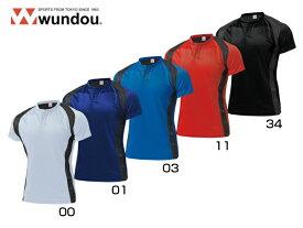 ラグビーシャツ wundou(ウンドウ) P-3510 ラガーシャツ チーム対応 プラクティスシャツ ゲームシャツ 無地