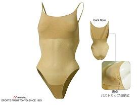 ボディファンデーション レオタード インナー (wundou) P-540 女子 体操競技 新体操 アンダーウェアー 器械体操 バレエ 下着 無地