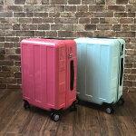 超軽量ジッパースーツケース40LSサイズ2〜4泊用小型ファスナーキャリーバッグ機内持ち込みMAXサイズプラスワンアドバンスブーンキャリーケース