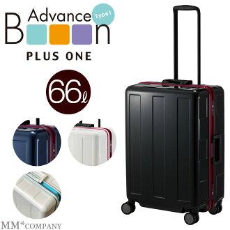 受供使用PLUS ONE(一加)旅行箱超輕量Booon1(布恩1)架子110-60 4-6夜的ML尺寸名牌飛翔距離情况境外遊國內旅遊商務出差也歡迎的後備箱情况旅行包郵購樂天