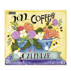 LANG 2022年 カレンダー 壁掛け Coffee Lorlynn Simms ラング カントリー コーヒー インテリア 令和4年暦 マシュマロポップ